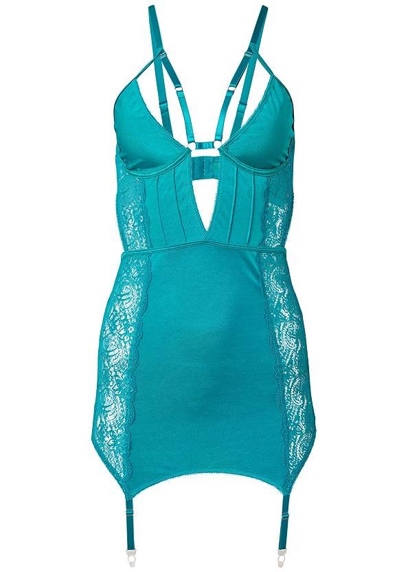 Alternate View Strappy Plunge Chemise