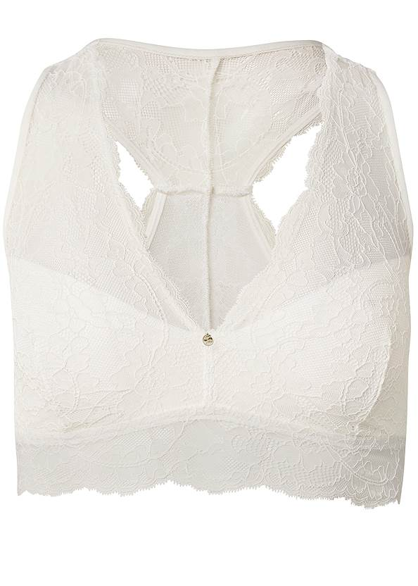Ghost with background  view Pearl™ By Venus Racerback Bralette