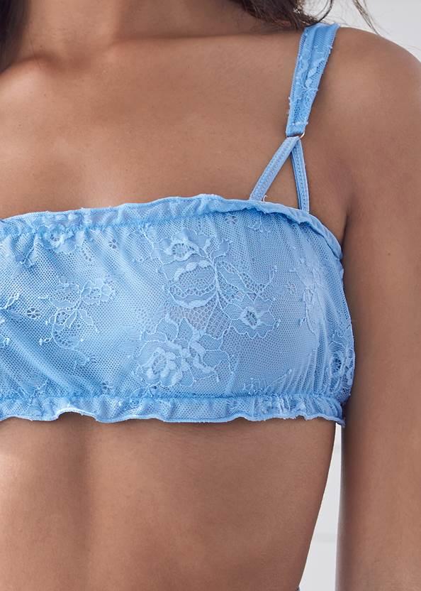 Detail front view Bra High Waist Panty Set