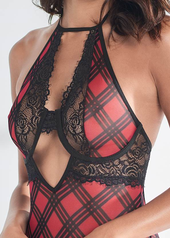 Alternate View Wired Plaid Chemise