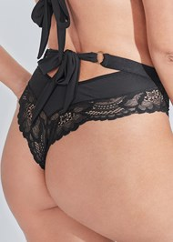 Alternate View Lace Bra And Panty Set