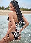 Back View Sports Illustrated Swim™ Double Strap Triangle Top