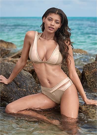 Sports Illustrated Swim™ Brazilian Crisscross Bottom
