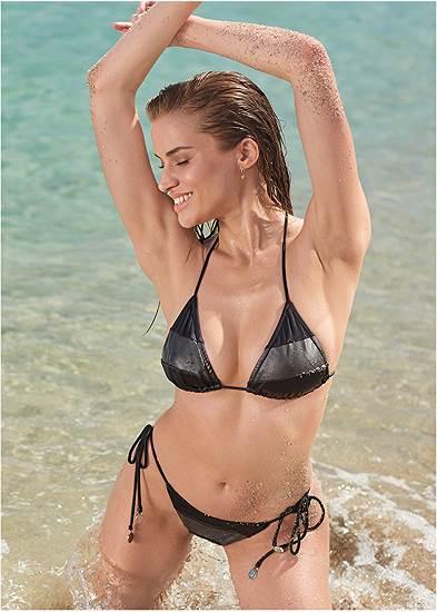 Sports Illustrated Swim™ Color Block String Bottom