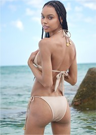 Back View Sports Illustrated Swim™ Tie Side String Bottom