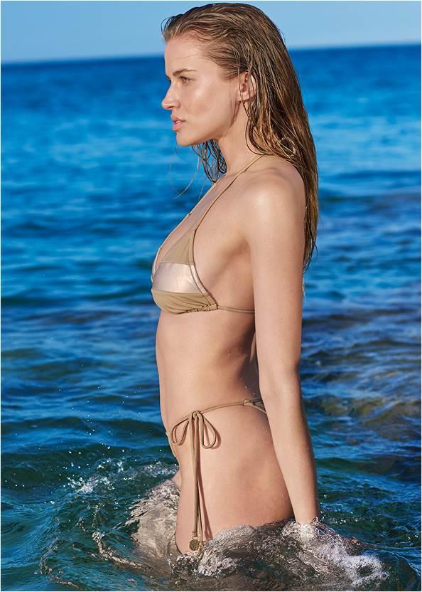 Alternate View Sports Illustrated Swim™ Color Block Triangle Top