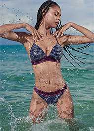 Alternate View Sports Illustrated Swim™ Logo Elastic Low Rise Bottom