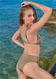 Back View Sports Illustrated Swim™ Brazilian Crisscross Bottom