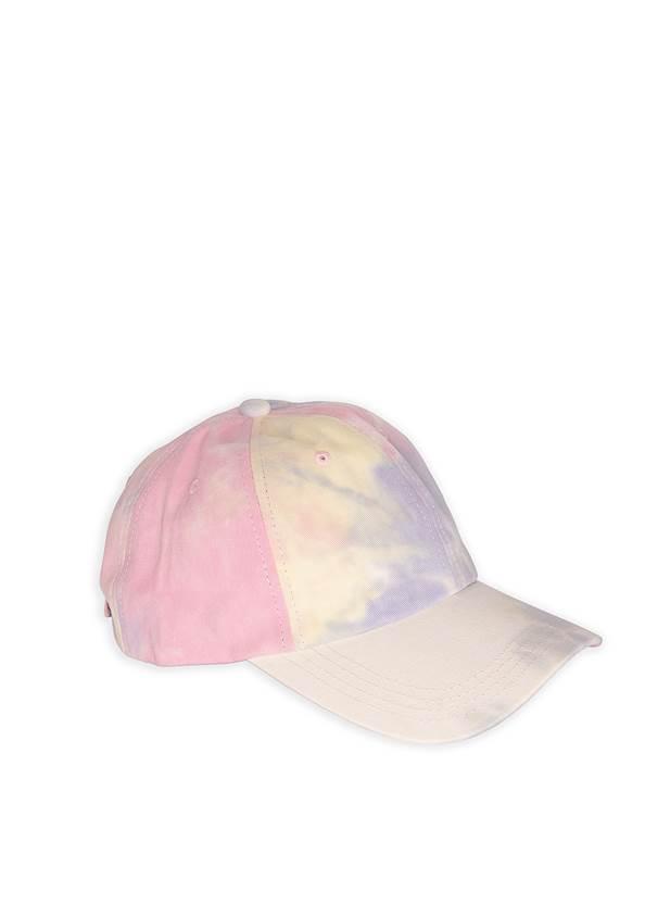 Tie Dye Baseball Hat,Surplice Pullover Sweatshirt,Basic Cami Two Pack,Color Capri Jeans