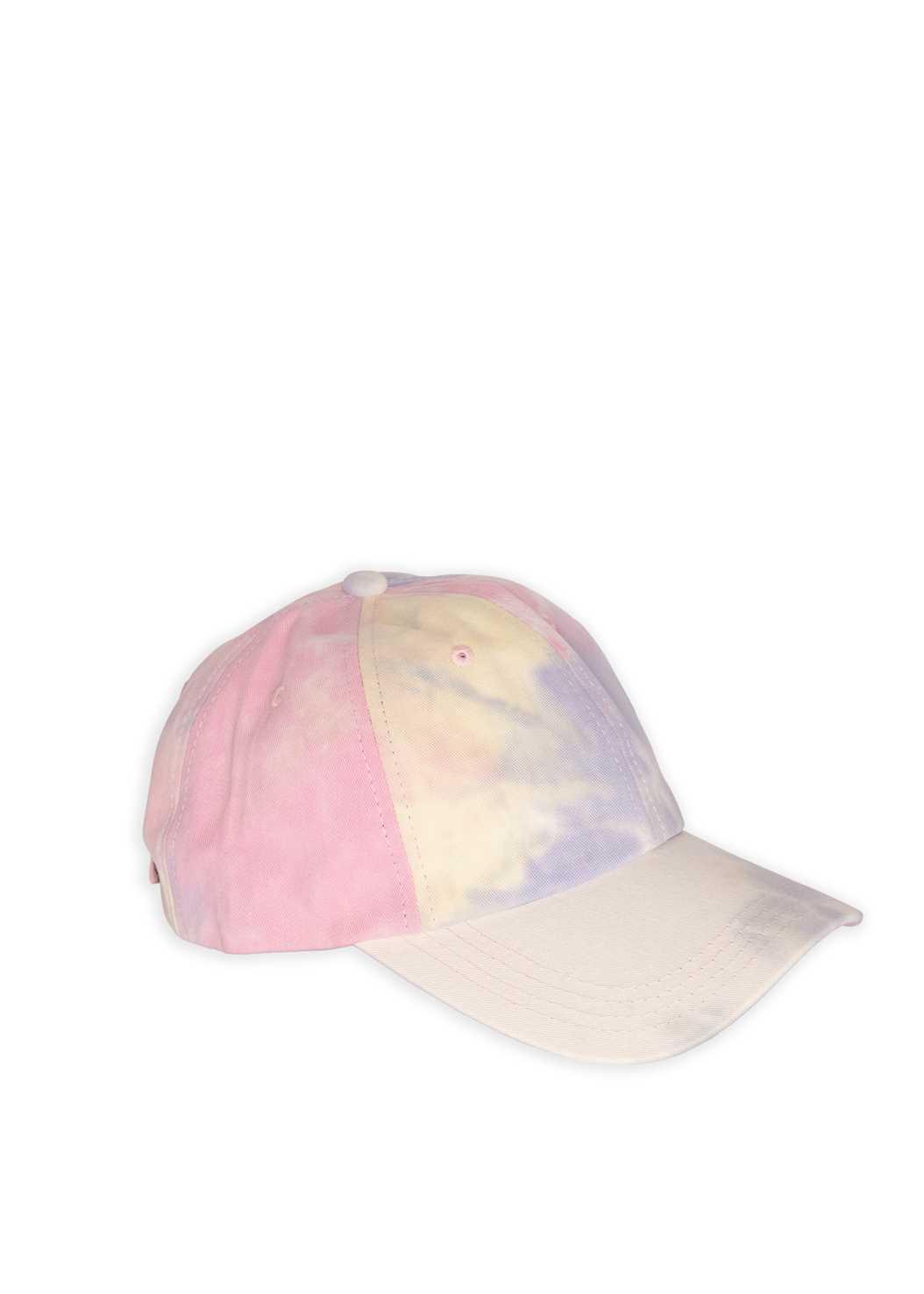 Tie Dye Baseball Hat,Surplice Pullover Sweatshirt,Basic Cami Two Pack,Color Capri Jeans,Beaded Hoop Earrings