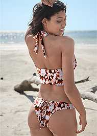 Full back view Sports Illustrated Swim™ Keep Up Grommet Top
