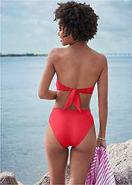 Full back view Sustainability Bandeau Top