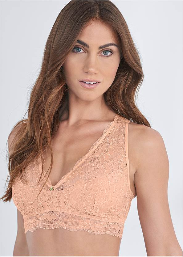 Cropped Front View Pearl™ By Venus Racerback Bralette