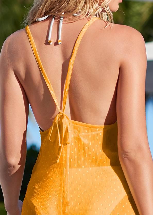 Alternate View Lurex Cover-Up Dress