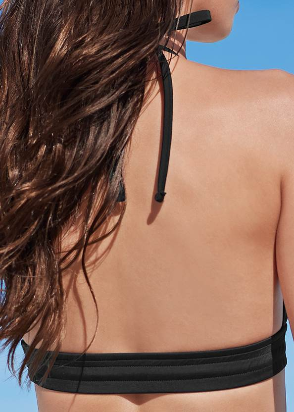 Detail back view Beach Days Triangle Top