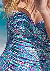 Detail front view Slimming Skirted One-Piece
