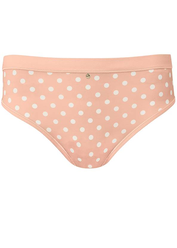 Ghost with background  view Pearl™ By Venus Retro High Leg Panty 3 Pack