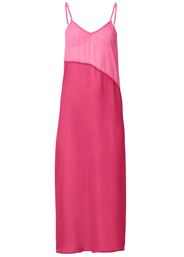 Ghost with background  view Color Block Maxi