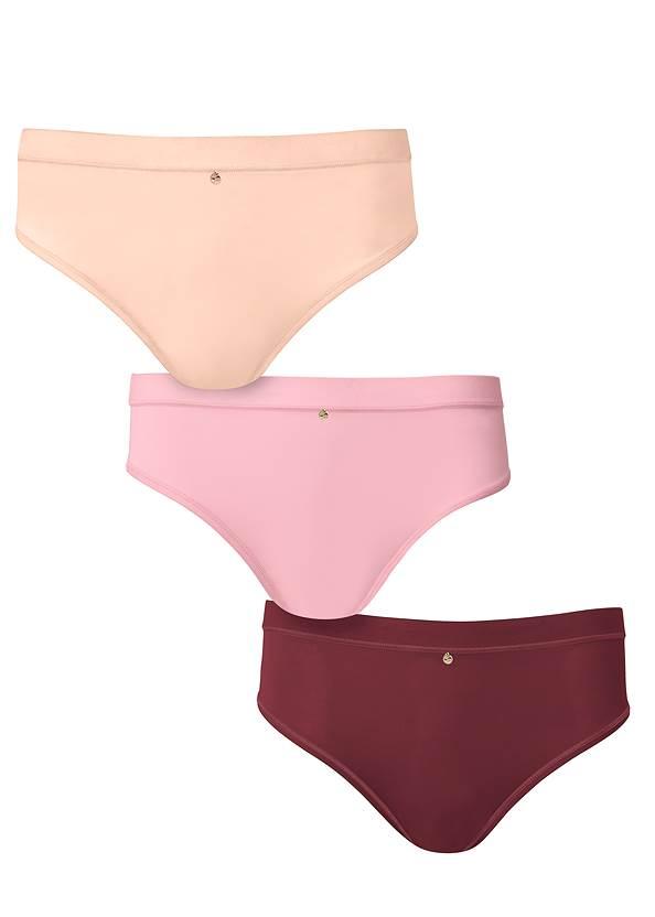 Pearl™ By Venus Retro High Leg Panty 3 Pack,Pearl™ By Venus Lace Bralette