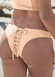 Alternate View Sports Illustrated Swim™ Lace Up Back Cheeky Bottom