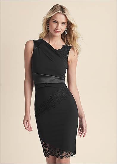 Lace Detail Party Dress