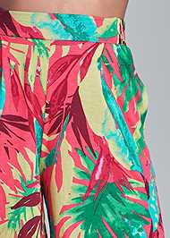 Alternate View Floral Printed Shorts