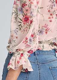 Alternate View Floral Print Top