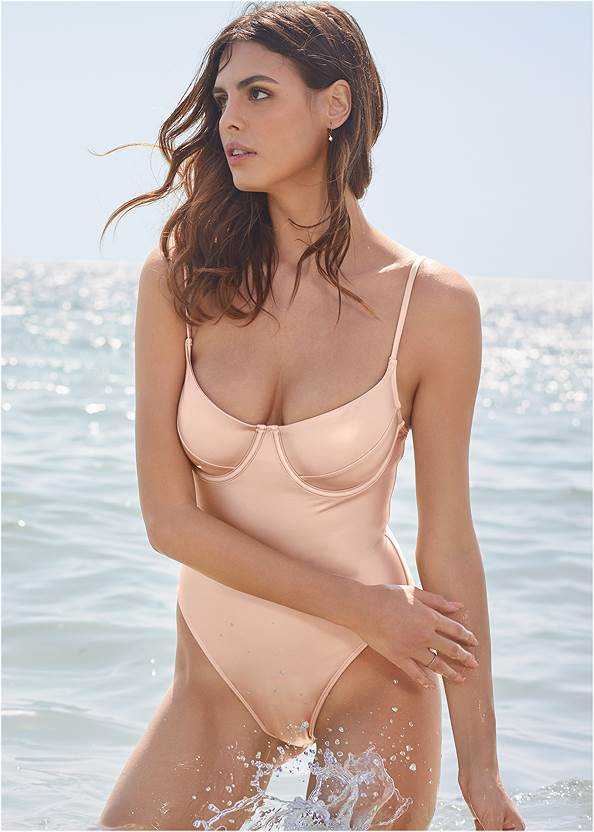 Sports Illustrated Swim™ Unlined Underwire One-Piece
