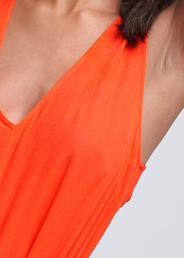Alternate View Wrap Romper Cover-Up