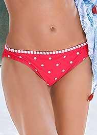 Detail front view Low Rise Bikini Bottom