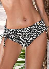 Detail front view Adjustable Bikini Bottom