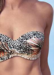 Detail front view Summer Breeze Bandeau Top
