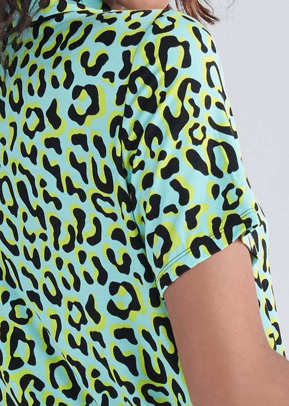 Alternate View Button Up Sleep Shorts Set
