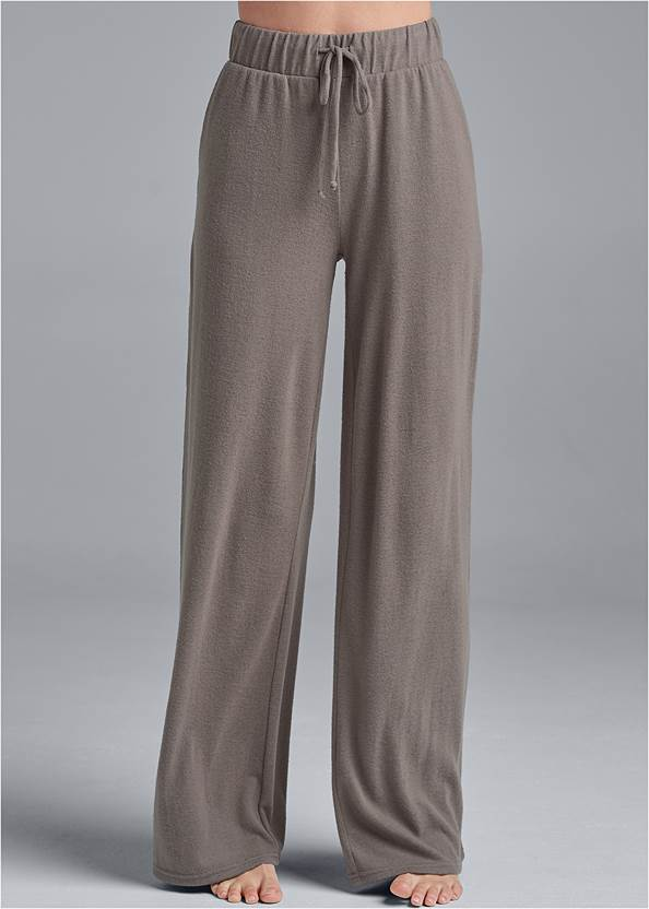 Alternate View Cozy Hacci Wide Leg Pants