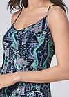 Alternate View Printed Maxi Dress