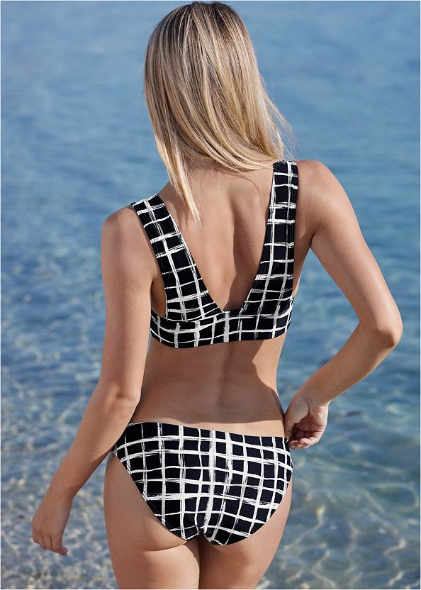Back View Perfect Comfort Swim Top