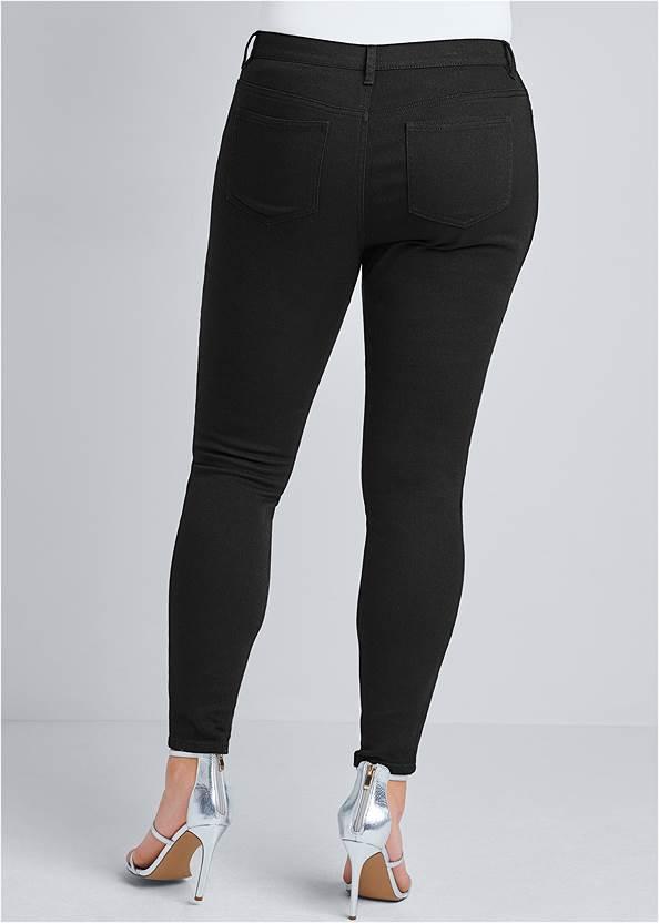 Alternate View Rhinestone Detail Jeans