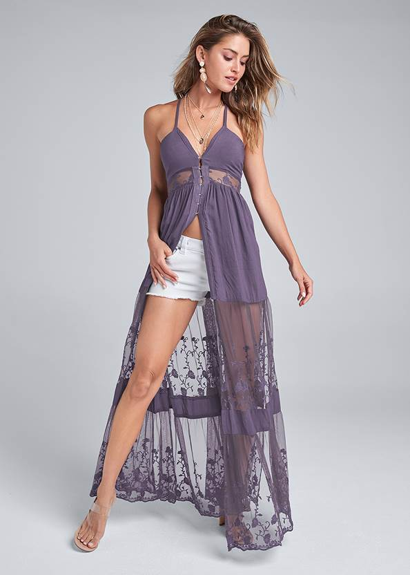 Alternate View Lace Maxi Top