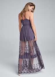 Back View Lace Maxi Top