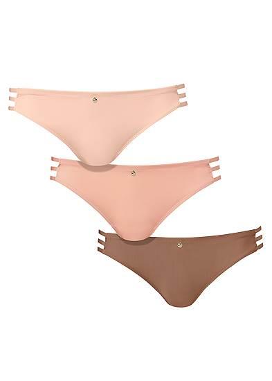 Pearl™ By Venus Strappy Bikini 3 Pack
