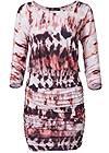 Alternate View Tie Dye Casual Dress