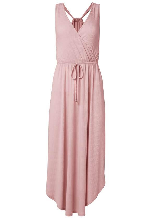 Alternate View Surplice Maxi Dress