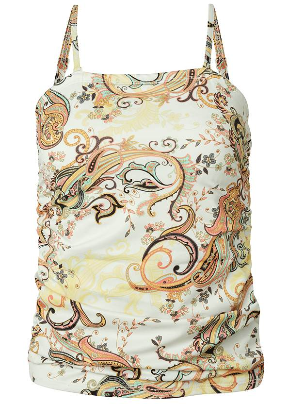 Ghost with background  view Slimming Tankini Top