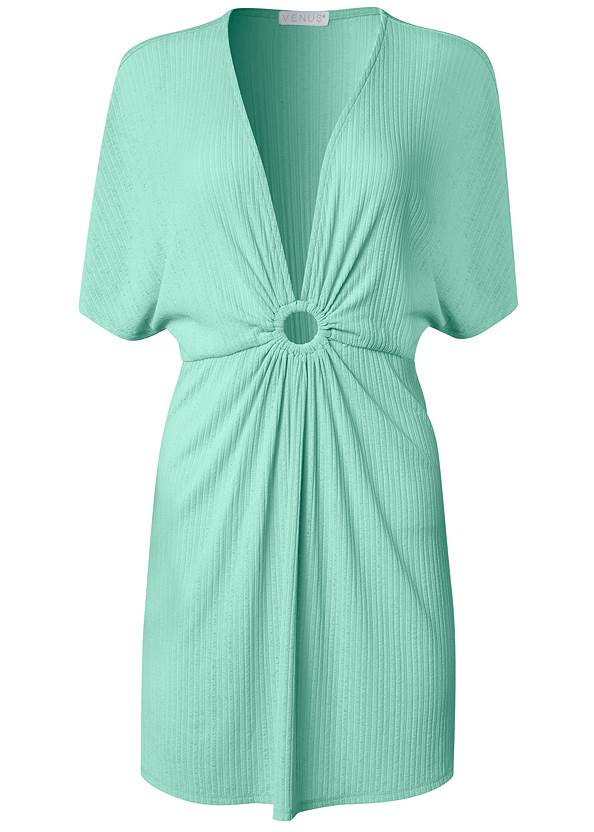 Ghost with background  view Ring Front Dolman Cover-Up