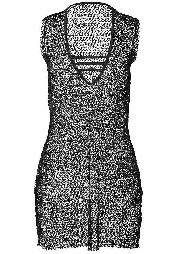 Alternate View Allover Crochet Cover-Up