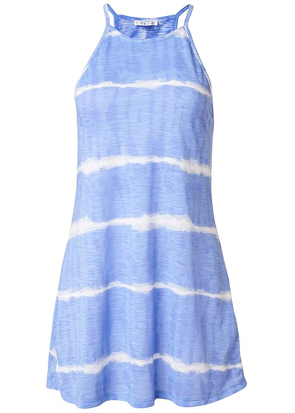 Ghost with background  view Racerback Beach Cover-Up