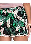 Alternate View Palm Printed Shorts