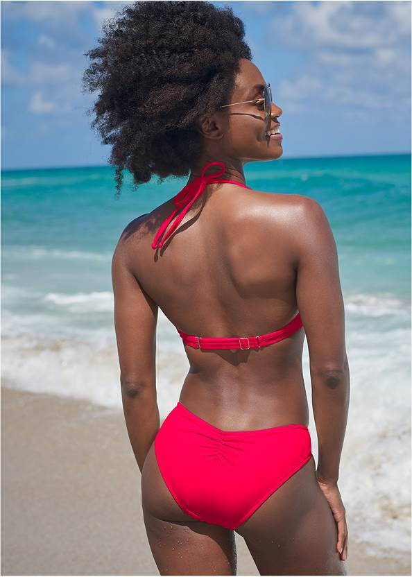Back View Sports Illustrated Swim™ Underwire Triangle Top