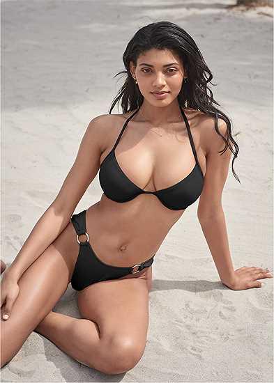 Plus Size Sports Illustrated Swim™ Frenchie Ring Bottom