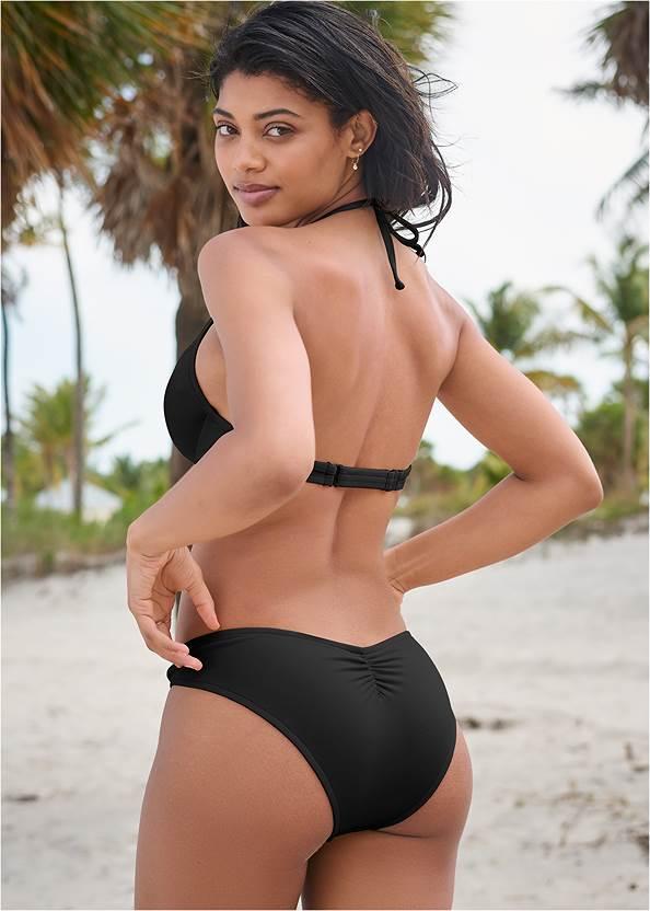 Full back view Sports Illustrated Swim™ Frenchie Ring Bottom